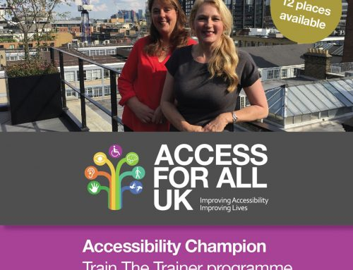 Accessibility Champion – Train The Trainer programme